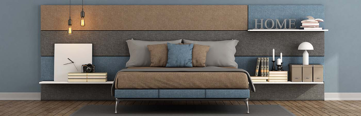 Fabric Wall Headboard